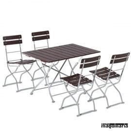 mesas jardin plegables mesas plegables catering de madera con bancos a juego set