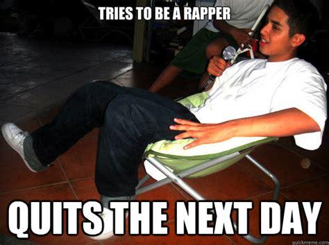 Meme Rapper - no good rapper spoken word poetry art haiku in fun