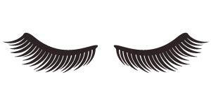 printable eyelash stencils diy eyelash pajamas template club crafted