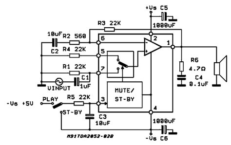 car stereo capacitor lifier schematic get free image