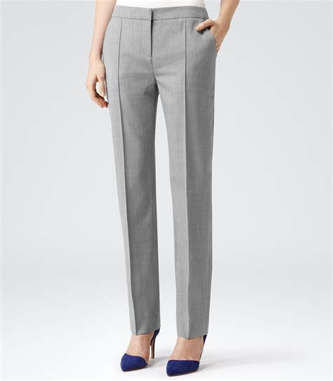 Tailored Trouser reiss nell arc tailored trousers in gray lyst