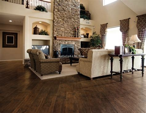 Living Room Wood Tile Wood Look Flooring Ceramic Tile For Country Living Room