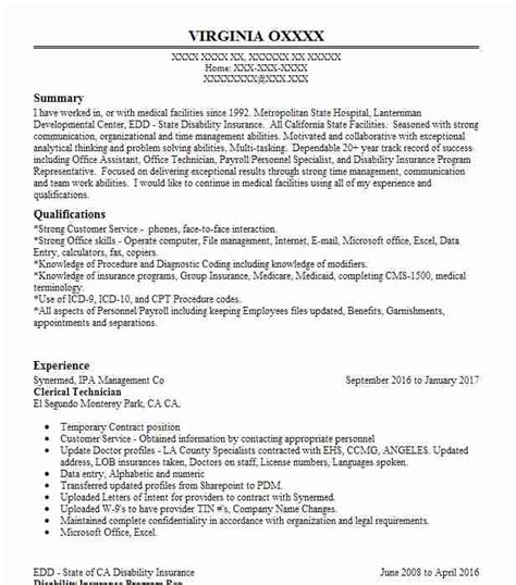 Clerical Resume by Eye Grabbing Clerical Resumes Sles Livecareer