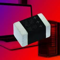 vishay low esr capacitors vishay low esr polymer capacitors increase volumetric efficiency micro technology