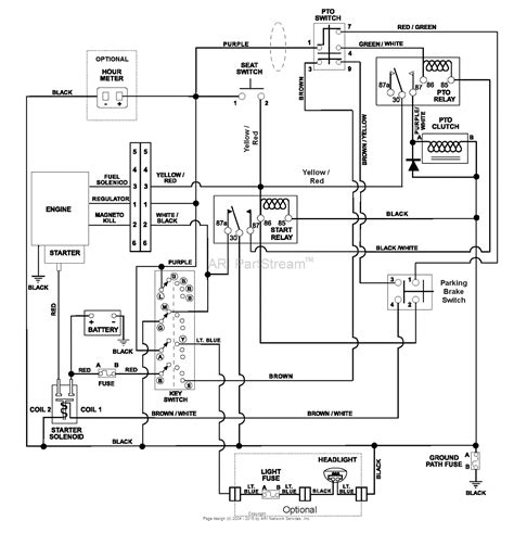 murray lawn mower wiring diagram fitfathers me