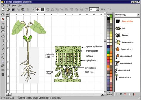 scientific drawing software science diagrams by focus educational software