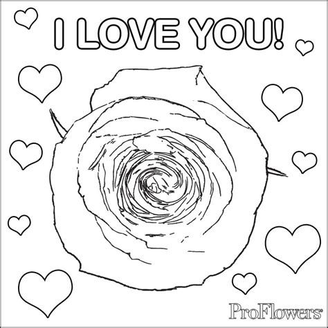 Also Roses Flower Roses And Hearts Coloring Pages