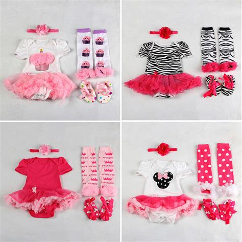 baby clothes and shoes newborn infant baby headband romper leg warmers