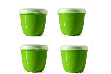 recycled storage containers preserve food storage container 8 ounce mini made from