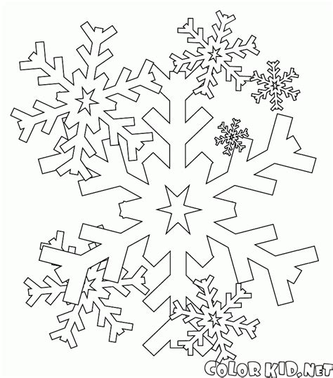 intricate winter coloring pages coloring page intricate snowflake