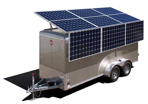 hs 275 hybrid solar diesel generator mobile solar