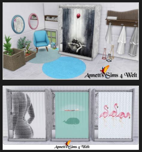 parenthood shower recolors  annetts sims  welt sims
