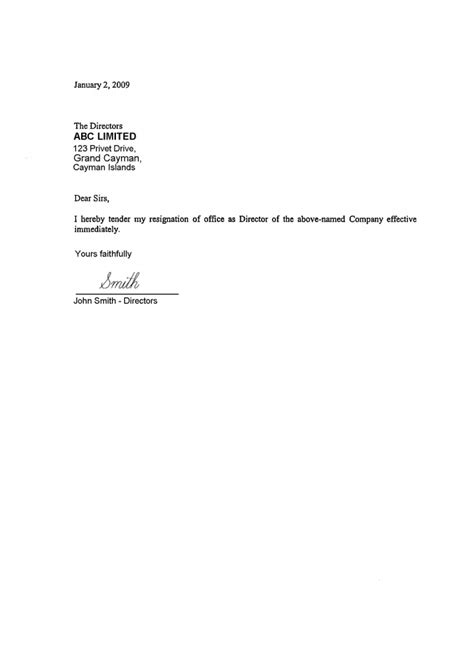 consent letter format director cayman islands offshore zones offshore and