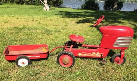 Murray Pedal Car Dump Trailer by Murray Pedal Car Shop Collectibles Daily