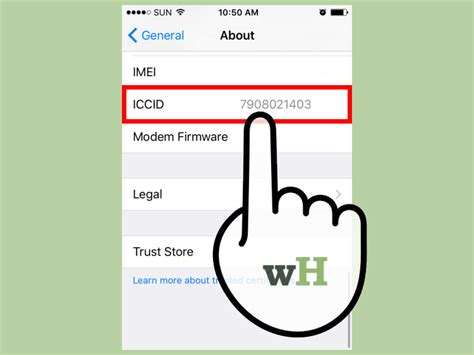 check  iphones meid  steps  pictures wikihow