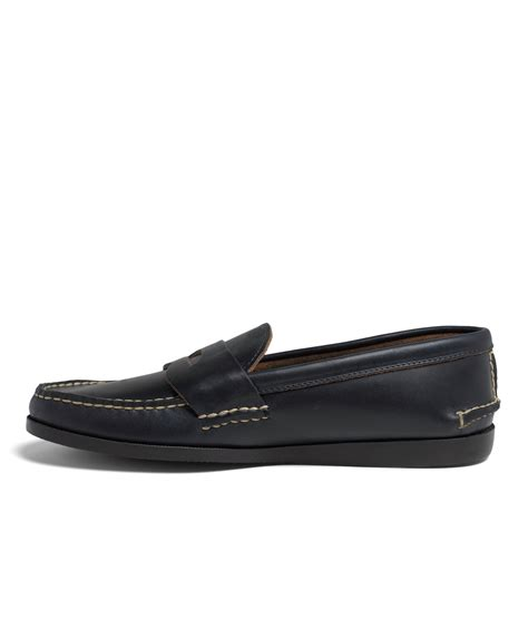 rancourt loafer brothers rancourt co casual loafers in blue for