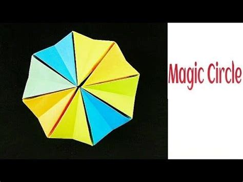 How To Make A Origami Magic Circle - 90 best images about kaleidocycle flexagon on