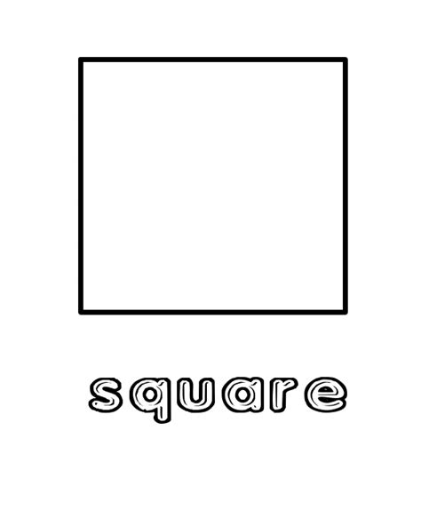 printable square shapes free coloring sheets shapes 171 free coloring pages