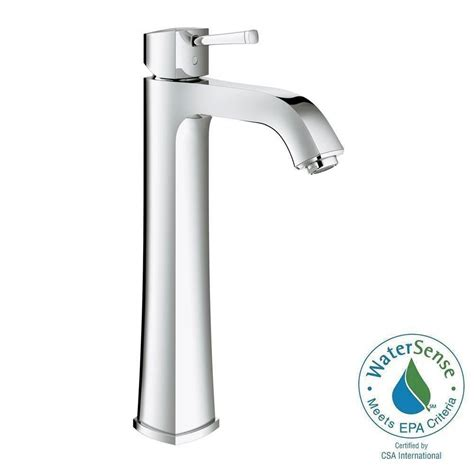 grohe 23305000 parkfield single handle faucet in chrome grohe parkfield single hole single handle bathroom faucet