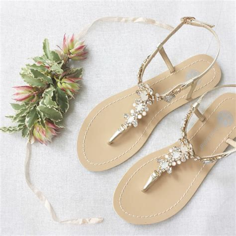 Blue Wedding Sandals For by Something Blue Sole Wedding Shoes Sandals With Gold