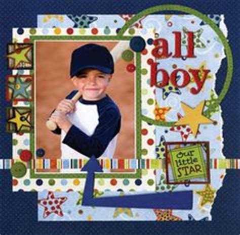 Tab Dispensers For Your Scrapbook Layouts by Kindergarten Scrapbook Page Layout Ideas Abc School