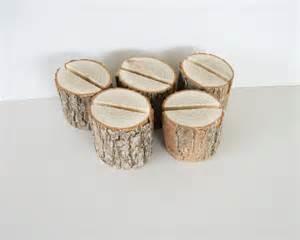 wood place card holders wedding 5 sassafras wood place card holder rustic wedding