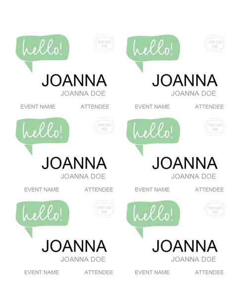 6 best images of office name tag printable free