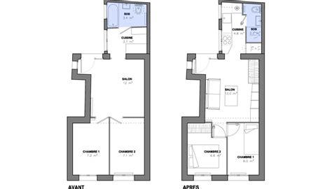comment installer une cuisine 駲uip馥 7 m 178 pour installer une cuisine et une salle d eau salle