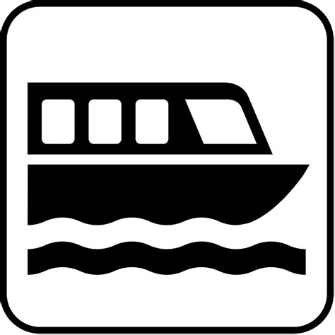 symbols used in the open boat datei pictograms nps boat tour svg reisef 252 hrer auf