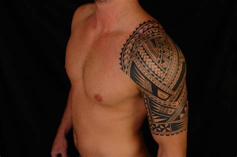 mens half sleeve tribal tattoos sleeve tattoos for the tribal style tattoos