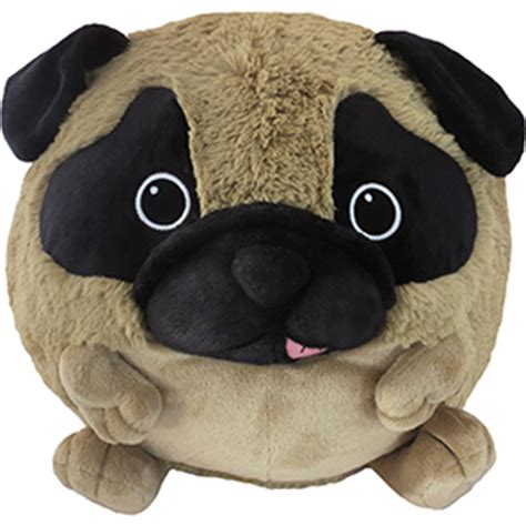 pug presents for pug squishable pug an adorable fuzzy plush to snurfle and squeeze