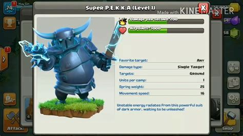 Coc Pekka Level6 exclusive gameplay of new troop pekka clash of