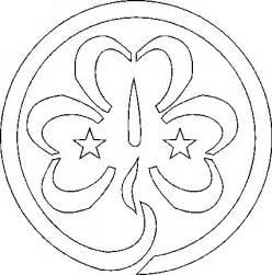 Guide Trefoil Outline by 1st Castlegar Guides My Community