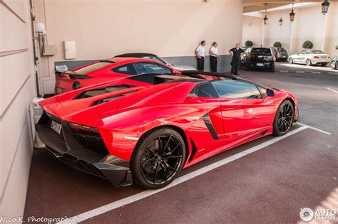 lamborghini aventador lp700 4 roadster red lamborghini aventador lp700 4 roadster mvm automotive design 1 january 2016 autogespot