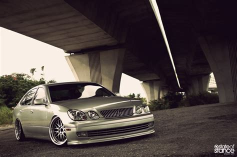 lexus gs300 stance lexus gs 300 state of stance front