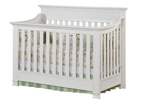Baby Cache Crib Mattress Covington Size Conversion Kit Bed Rails In White By Baby Cache