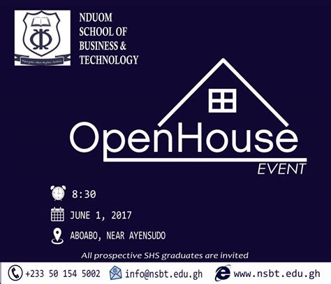 Open Mba Technology Management Review by Nduom School Of Business Technology Opens For