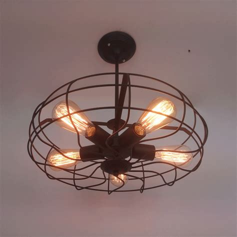 edison light ceiling fan industrial rustic vintage fan ceiling l e27 5 edison