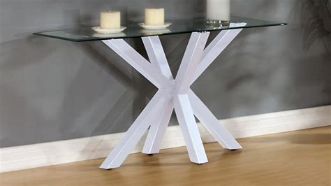 high gloss white table top white high gloss clear glass coffee side console table