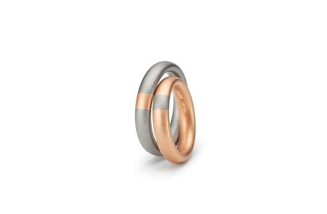 wedding rings by the niessing manufactory aurea