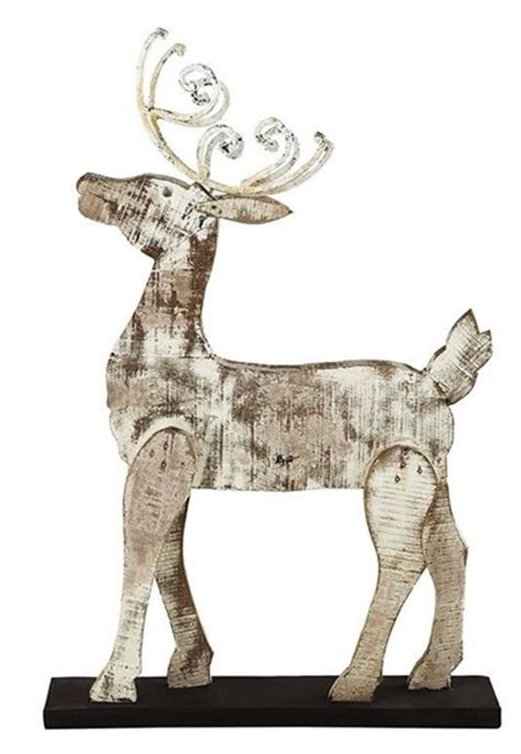 pattern for white wooden reindeer diy to try holiday edition centsational girl