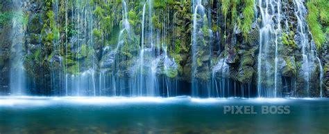 Waterfall Wall Murals mossbrae falls california waterfall serenity pool