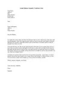 sample religious sympathy and condolence letter written by