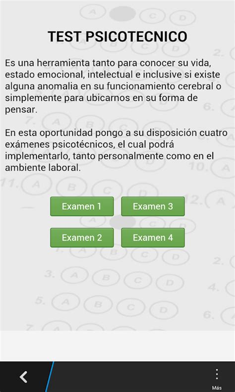 test psicotcnicos test psicotecnico android apps on google play