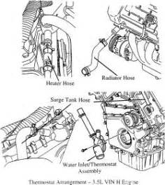 repair guides thermostat removal installation