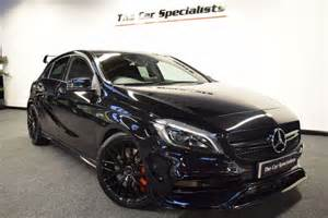used obsidian black mercedes a45 amg for sale south