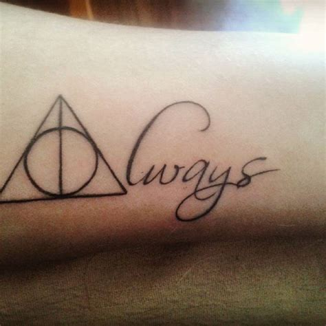 harry potter always tattoo 145 most magical harry potter tattoos you ll want to see