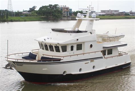 affordable fishing boat brands review bering yachts 55 steel trawler yachtforums the
