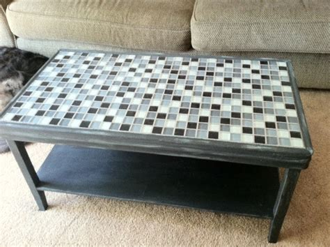 Diy Tile Coffee Table 25 Best Ideas About Tile Top Tables On Tile Tables Mosaic Tile Table And Garden Table