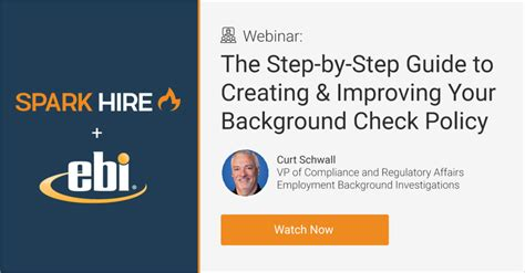 Ebi Background Check Webinar Recording The Step By Step Guide To Creating